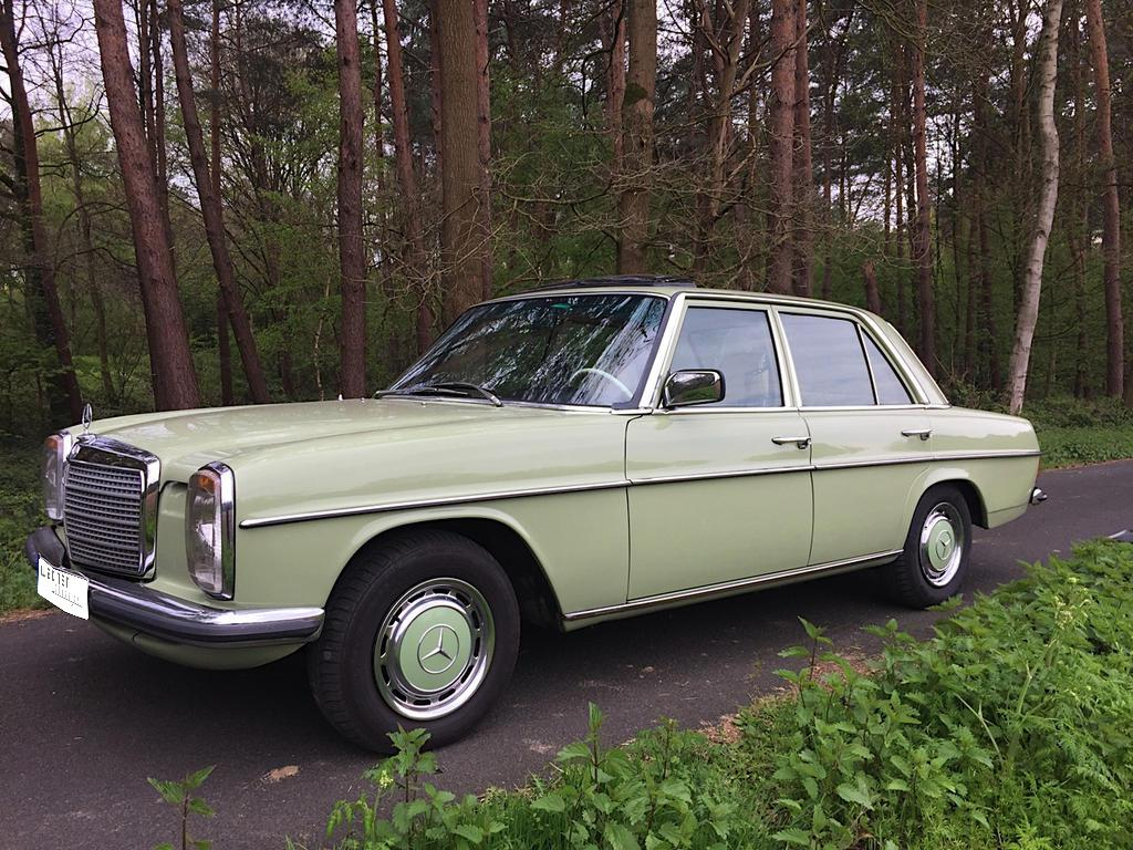 Wagner Classics Youngtimer Oldtimer Automobile - Mercedes Benz 240 D  3.0 W115